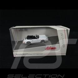 Porsche 911 Carrera 3.2 Cabriolet Blanc Grand Prix 1/87 Schuco 452659800
