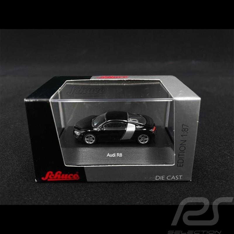 Audi R8 Brilliant Black 1/87 Schuco 452571300