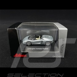 Lamborghini Aventador Roadster Silver 1/87 Schuco 452608400