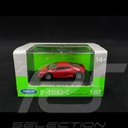 Lamborghini Huracán LP610-4 Rouge Mars 1/87 Welly 73153SW