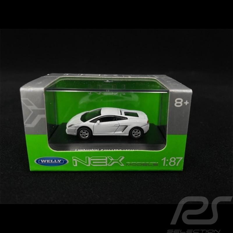 Lamborghini Gallardo White 1/87 Welly 73139SW