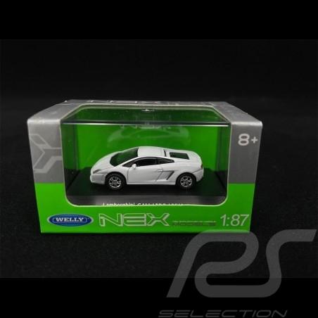 Lamborghini Gallardo Weiß 1/87 Welly 73139SW