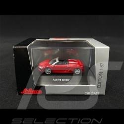 Audi R8 Spyder Tangorot 1/87 Schuco 452603300