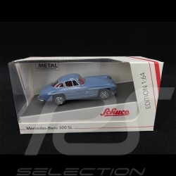 Mercedes-Benz 300 SL Light Blue 1/64 Schuco 452027600