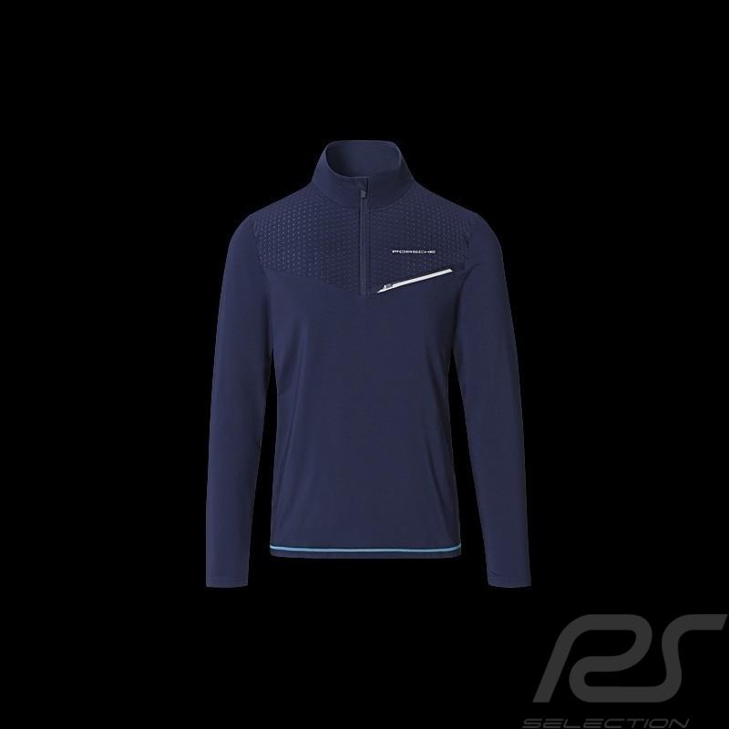 T-shirt Porsche Sports Collection Long Sleeves Dark Blue WAP533M0SP - men