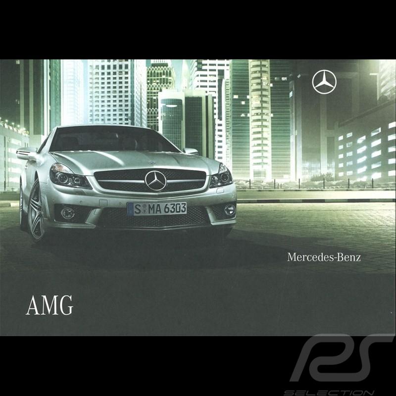Mercedes Brochure Mercedes-Benz AMG 2008 04/2008 in german AG004051-02