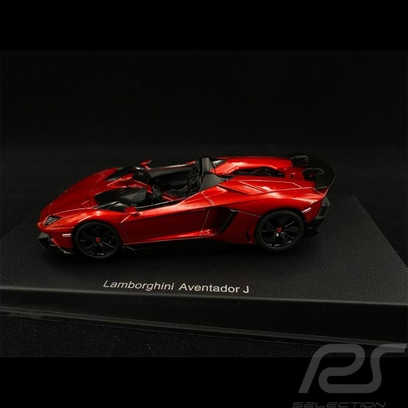 Lamborghini Aventador J 2012 Red Metallic 1/43 AutoArt 54651