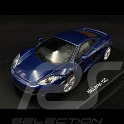 McLaren MP4 - 12C 2011 Metallic Dark Blue 1/43 AutoArt 56004