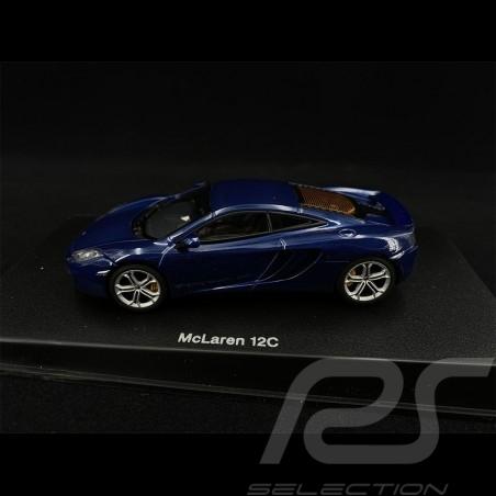 McLaren MP4 - 12C 2011 Bleu Foncé dark blue darkblau Métallique 1/43 AutoArt 56004
