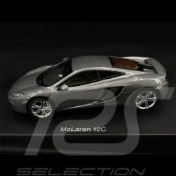 McLaren MP4 - 12C 2011 Silver 1/43 AutoArt 56007