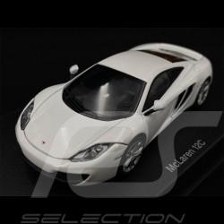 McLaren MP4 - 12C 2011 Metallic White 1/43 AutoArt 56009