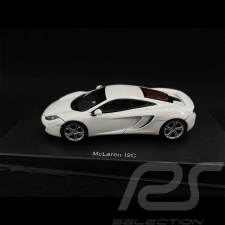 McLaren MP4 - 12C 2011 Metallic Weiß 1/43 AutoArt 56009