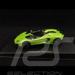 Lamborghini Aventador J 2012 Ithaca Green 1/43 AutoArt 54654