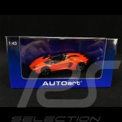 Lamborghini Aventador J 2012 Orange Argos 1/43 AutoArt 54652