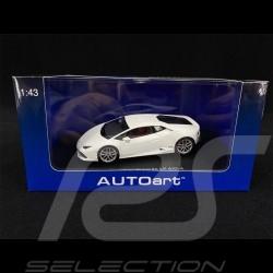 Lamborghini Huracan LP 610-4 2014 Canopus White 1/43 AutoArt 54601