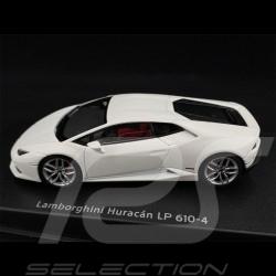 Lamborghini Huracan LP 610-4 2014 Blanc White Weiß Canopus 1/43 AutoArt 54601