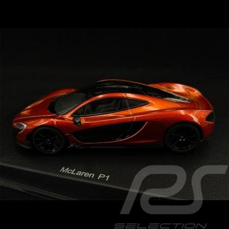 McLaren P1 2013 Orange Volcano Métallique 1/43 AutoArt 56012