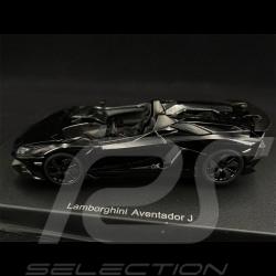 Lamborghini Aventador J 2012 Noir Black Schwarz 1/43 AutoArt 54653