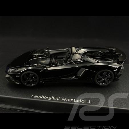 Lamborghini Aventador J 2012 Black 1/43 AutoArt 54653