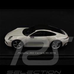 Porsche 911 Carrera 4S Type 992 2019 Gris Craie 1/43 Spark S7837