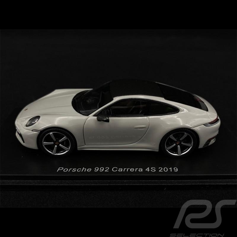 Porsche 911 Carrera 4S Type 992 2019 Chalk Grey 1/43 Spark S7837