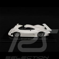 Porsche 911 GT1 Type 996 Street Version 1998 Blanc white weiß Carrara 1/43 Spark S5998