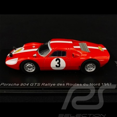 Porsche 904 GTS n° 3 Rallye des Routes du Nord 1967 1/43 Spark SF165
