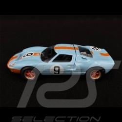 Ford GT40 Inspiration Sieger Le Mans 1968 n° 9 1/43 Norev 270567
