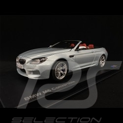 BMW M6 Cabriolet F12 Silverblue 1/18 Paragon 80432253656