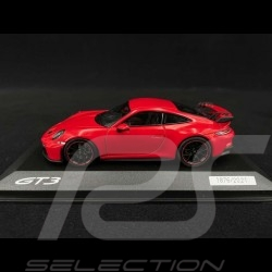 Porsche 911 GT3 type 992 2021 Guards red 1/43 Minichamps WAP0201510M006