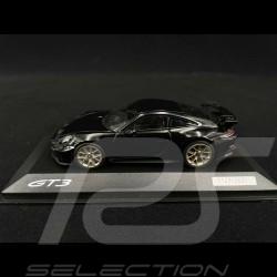 Porsche 911 GT3 type 992 2021 deep black metallic 1/43 Minichamps WAP0201520M007