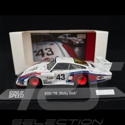 Porsche 935 / 78 n° 43 24h Le Mans 1978 1/43 Spark WAP0209350MMDE