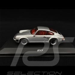 Porsche 911 1974 Metallic Silber 1/43 Minichamps WAP02003397