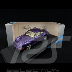 Porsche 911 Carrera 2/4 type 964 1992 metallic purple 1/43 Minichamps MIN062122