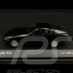 Porsche 924 1984 schwarz 1/43 Minichamps 400062122
