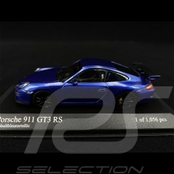 Porsche 911 GT3 RS Type 997 2006 Cobaltblau Metallic 1/43 Minichamps 400066001
