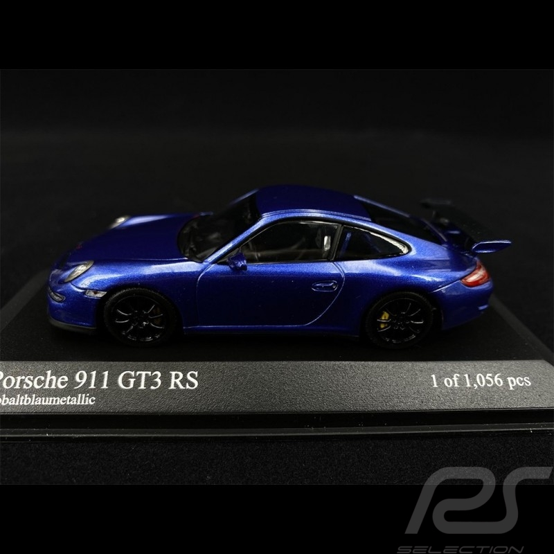 Porsche 911 GT3 RS Type 997 2006 Cobalt Blue Metallic 1/43 Minichamps 400066001