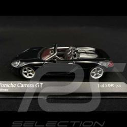 Porsche Carrera GT 2001 noire black schwarz 1/43 Minichamps 430060230