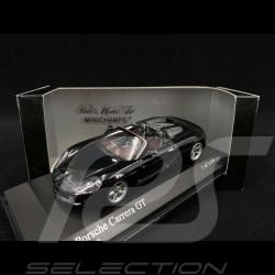 Porsche Carrera GT 2001 black 1/43 Minichamps 430060230