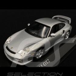 Porsche 911 GT2 type 996 Mk1 2000 metallic polar grey 1/43 Minichamps 430060126