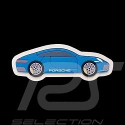 Puzzle en bois wooden 10 pièces Porsche 911 Type 992 Bleu Electrique WAP0400040MSTP