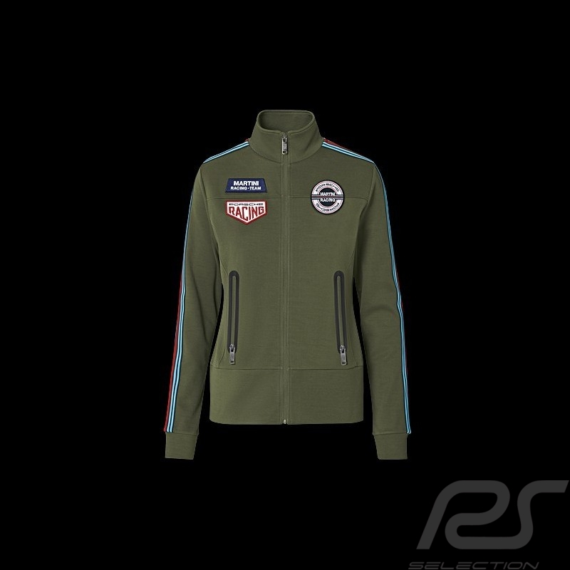 Sweat Jacket Porsche Martini Racing Collection Olive Green - women WAP556