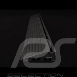 Sloped edging for garage slab - Colour Black RAL9004 - set of 4 - with eyelets