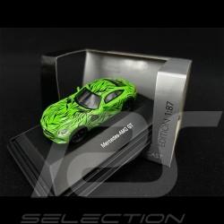Mercedes - AMG GT Green with Black Tribals 1/87 Schuco 452634300