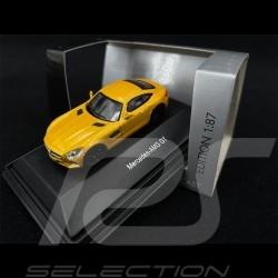 Mercedes - AMG GT Yellow 1/87 Schuco 452634200