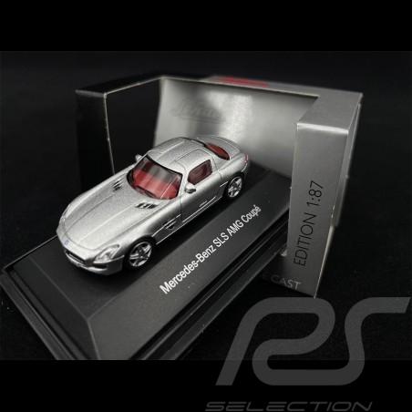 Mercedes - Benz SLS AMG Coupe Grey 1/87 Schuco 452604900