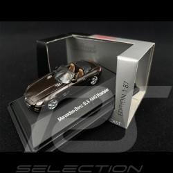 Mercedes - Benz SLS AMG Roadster Brown 1/87 Schuco 452598100