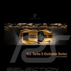 Porsche Broschüre 911 Turbo S Exclusive Series Hors du commun 06/2017 in französisch WSLK1801000130