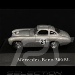 Mercedes - Benz 300 SL Prototyp n° 21 Argent Silver Silber 1/87 Schuco 452618300