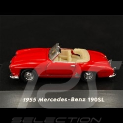 Mercedes - Benz 190 SL 1955 Rot 1/87 Welly 73119SW-RED